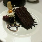 The best cake ever! Caramel Chocolate Crunch
