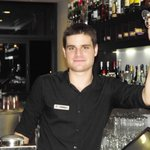 Charming bar man Jorge