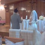 salón donde hicimos la ceremonia religiosa