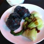 Black beef dumplings