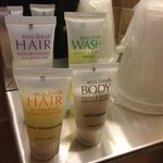 Bathroom amenities!