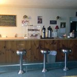 Coffee shop which you will have keyed 24/7 access to.