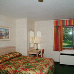 spacious room overlooking Lake Holcombe
