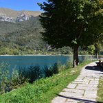 The beautiful Lago di Ledro