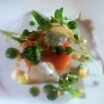 Loved the cured salmon