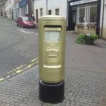 Andy Murray's post box