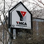 Signage for YMCA Christchurch