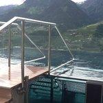 piscina salina sul tetto