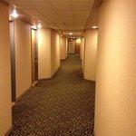 couloir a l'hotel