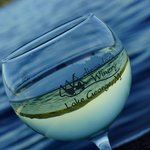 What better experience? Viognier on the lake!