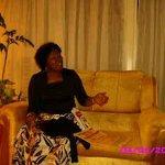 At the cool reception of Green Hills hotel Nyeri Kenya