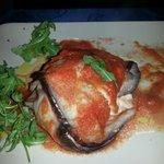Seafood Eggplant Parmigiana