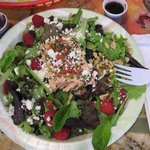 Delicious salmon salad!