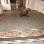 mosiac floor - old mansion lobby