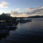 Lake view at Miners Bay Lodge
