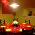 Il tavolo Tondo, saletta privata