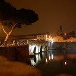 Ponte di Tiberio da Piazzale Pedrizzi