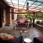 Outside Patio, Macushla House, Nairobi