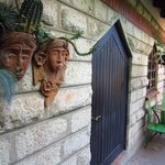 Entry to one of the rooms, Macushla House, Nairobi