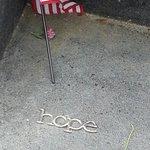 Hope.  Item left at Flight 93 Memorial.