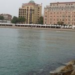 hotel vanaf de pier