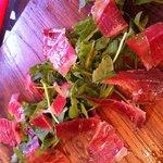 Fresh cut ham