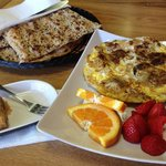 Date and Walnut Omelet