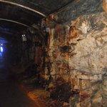 Part of the walk through the Arigna mine
