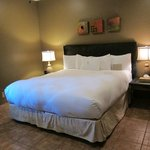 Bedroom in Sunset room