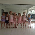 Tiny dancers on first day! Such a beautiful sight