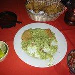 Great guacamole at El Fish Fritanga