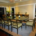 Dining room fit fora butler...