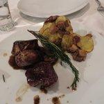 pork loin entree was delicious