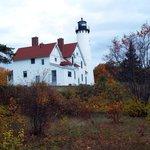 Autumn colors abound at Pt Iroquois