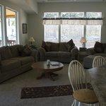 Log Cabin Large Living Room