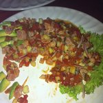 Marlin ceviche that was to die for