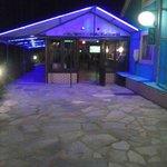 The Bar Enterance at Night