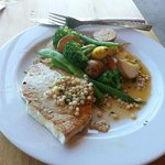 Swordfish main- melt in your mouth!