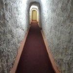 Corridor - gives you a sense of the drilling!