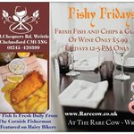 The whole of Essex is talking about Fishy Fridays - Fish,Chips, Glass of Wine £5.99