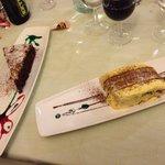 Dessert spettacolari e ottimi! Tutto fatto in casa! Tiramisu e torta pere cioccolato