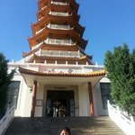 The pagoda on the hill