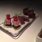part of the petit fours dessert plate in Facil.