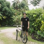Guest bikes, Coconut Grove grounds