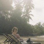 beachfront lounge chairs