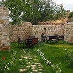 Garden, belonging to Cave Suite