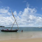a visiting dhow