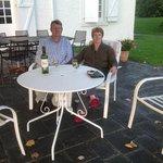 Jurancon on the terrace