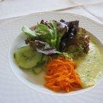 chreiners am Dom ・・・嬉しいサラダは美味しかった