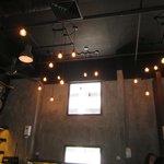 Kopi Ping restaurant - dimly lit